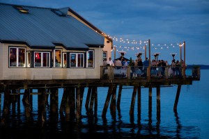 Duke's Chowder House on the water in Tacoma
