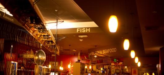 Inside Duke's Restaurant at Southcenter