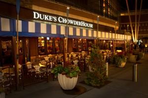 Dukes Chowder House Restaurant Outside of Southcenter