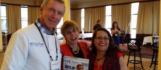 Bonnie Kogos Duke and Bettina at National Publicity Summit (2)