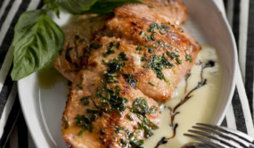 Silky Sensual Pan Seared Wild Alaska Salmon