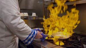 Cooking with Flames