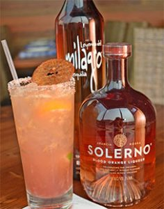 Blood Orange Liqueur Solerno