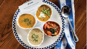 Chowder Dingy at Duke's Seafood
