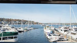 Dukes Lake Union Restaurant View