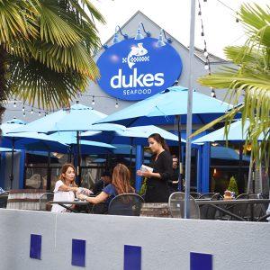Duke's Outdoor Dining