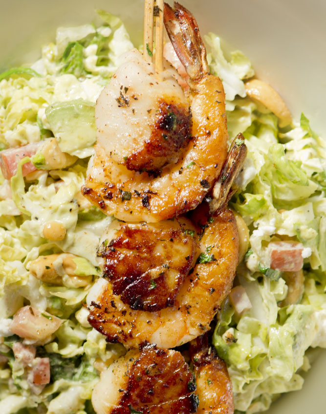 "Duke's Seafood ""Un"" Chopped Seafood Salad"