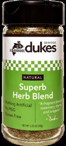 Duke's Seafood Superb Herb Spice Blend
