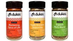 All Three Duke's Spice Blends