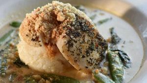 Duke's Seafood Alaska Halibut