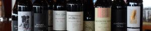 Dukes Seafood Bottles of Washington Boutique Wines
